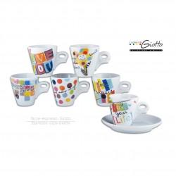 Nieuwe espresso- en cappuccinokopjes van Ancap