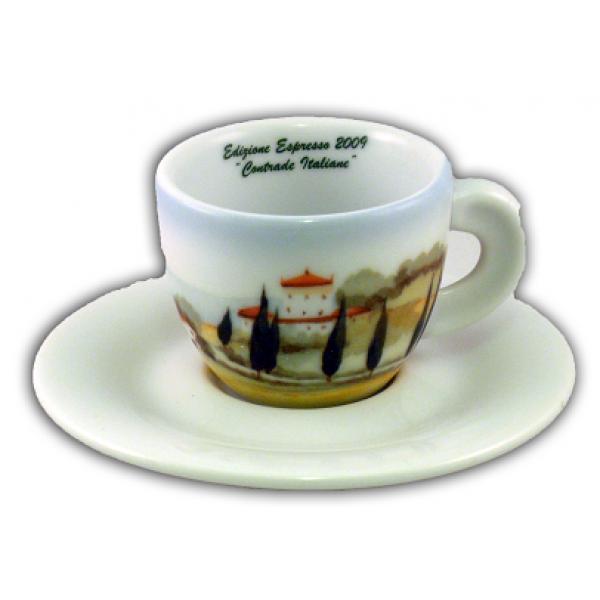 Cappuccinokopje met schotel - Ancap - Serie Contrade Italiane - 5