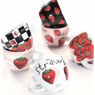 ANCAP Cappuccinokopjes Fragole set van 6