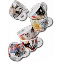 ANCAP Espresso kopjes Bella Italia set van 6