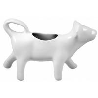 Melkkannetje - porselein - koevorm - 15ml