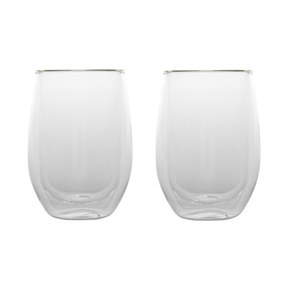 Dubbelwandige Latte Macchiatoglazen - Cosy&Trendy - 0,35 - set van 2
