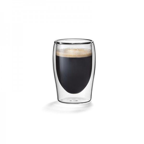 Dubbelwandige espressoglazen 0,08L  Flame model