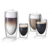Dubbelwandige glazen 0,30L. set van 6