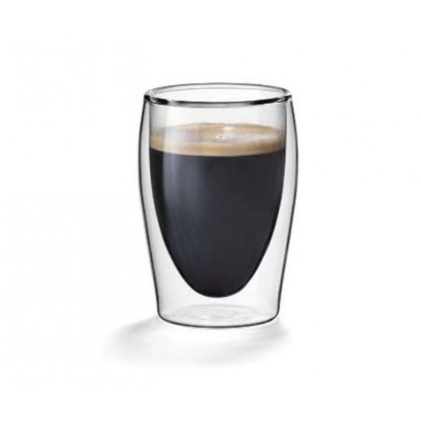 Dubbelwandige koffieglazen 0,20L. Flame model