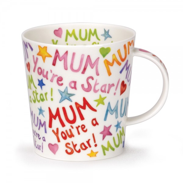 Grote mok - Dunoon - Lomond - Mum, you're a star - 320ml