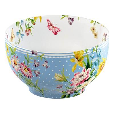 Yoghurtbowl blauw - Katie Alice - English garden