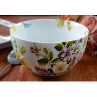 Yoghurtbowl wit - Katie Alice - English garden