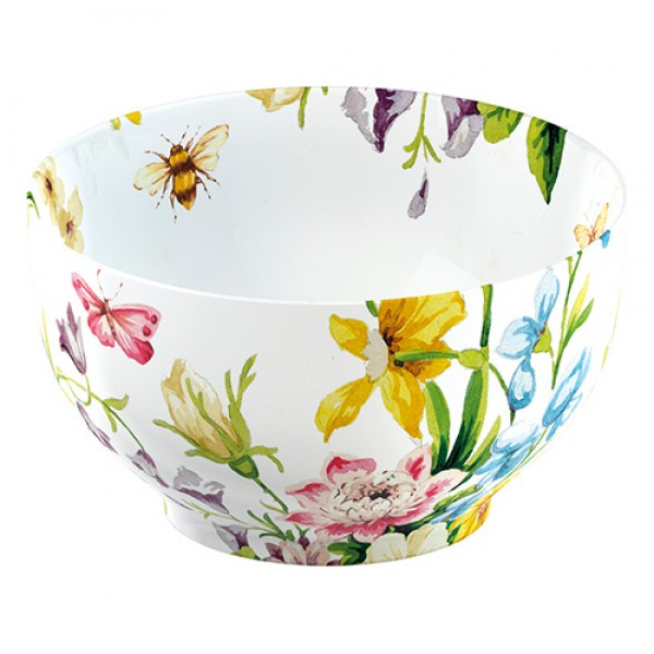 Yoghurtbowl wit - Katie Alice - English garden