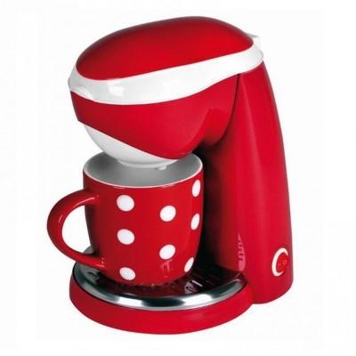 1 persoons koffiezetapparaat - inclusief koffiemok rood