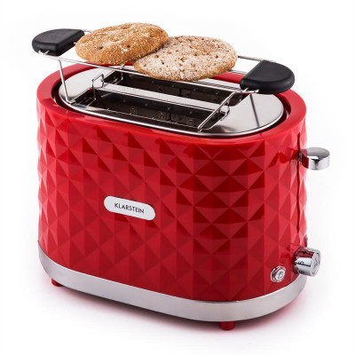 Broodrooster - Klarstein - 1000W - Granada Rossa - Rood