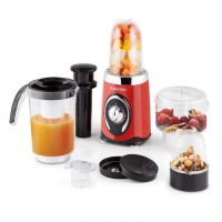 Klarstein Fruitzooka - 4 in 1 mixer - smoothiemaker - Rood
