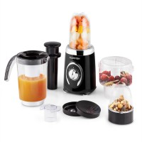 Klarstein Fruitzooka - 4 in 1 mixer - smoothiemaker - Zwart