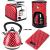 Polkadot Waterkoker, Broodrooster, Koffiezetapparaat en keukenweegschaal