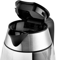 Waterkoker glas - 1.7 liter 2300W - Temperatuur instelbaar