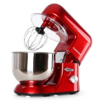 Keukenmachine - Mixer - Bella Rossa - 1200W - 5 liter - Rood