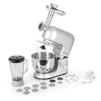 Keukenmachine - Mixer - Gehaktmolen - Blender - 1200W - Klarstein - Grijs