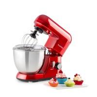 Keukenmachine - Mixer - Mini Bella Rossa - 800W - 4 liter - Rood
