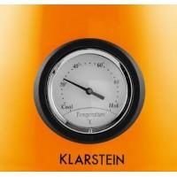 Waterkoker Klarstein Aquavita Chalet - 1,7l - Thermometer - Oranje