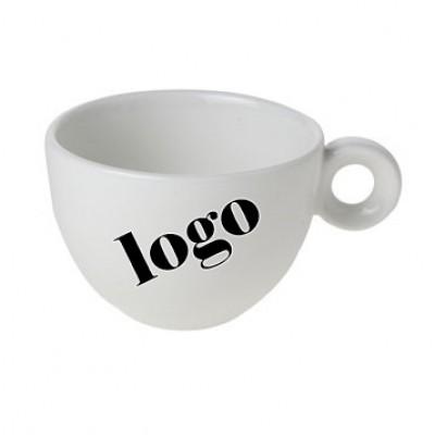 Bola cappuccinokop bedrukt met logo