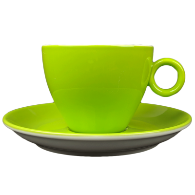 Cappuccinokopje - Maastricht porselein - Bart Colour - Groen