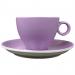 Cappuccinokopje - Maastricht porselein - Bart Colour - Paars