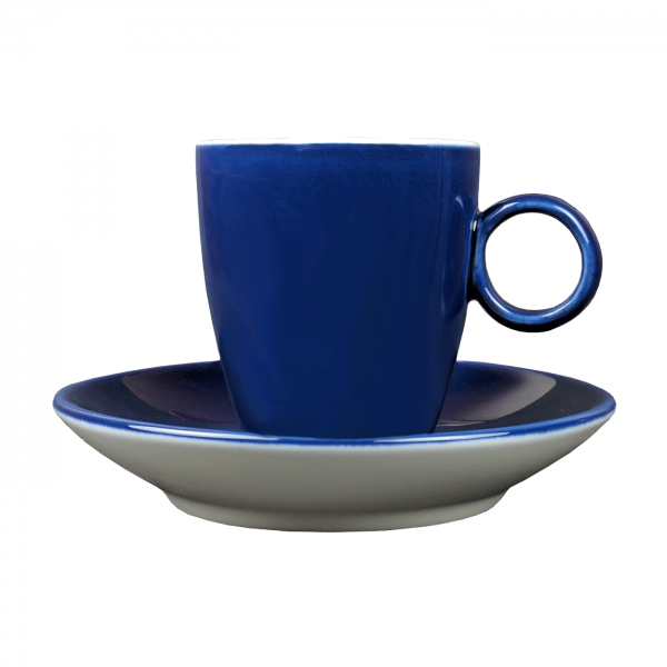 Espressokopje - Maastricht porselein - Bart Colour - Blauw