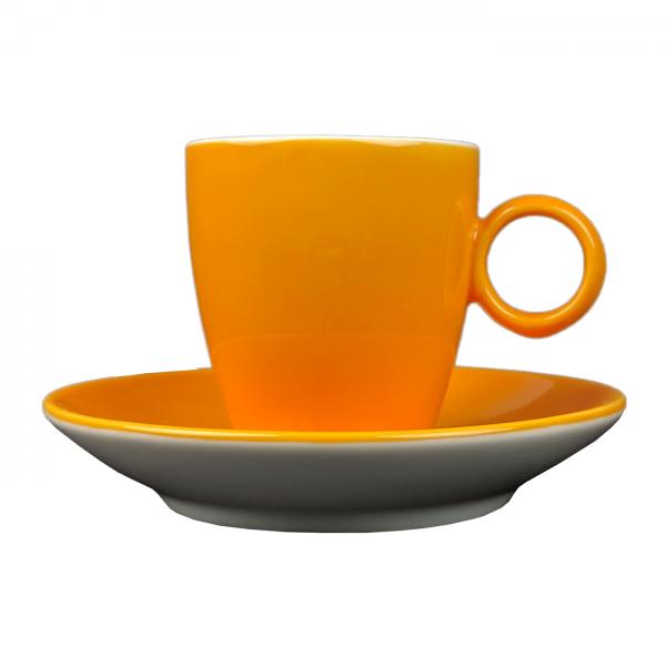 Espressokopje - Maastricht porselein - Bart Colour - Oranje