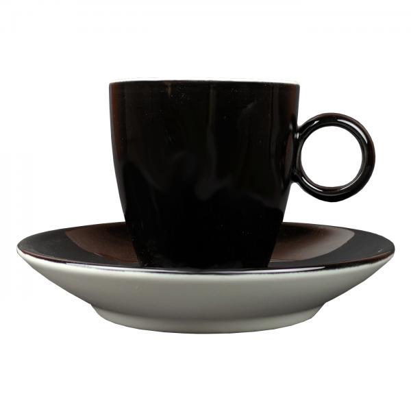 Espressokopje - Maastricht porselein - Bart Colour - Zwart