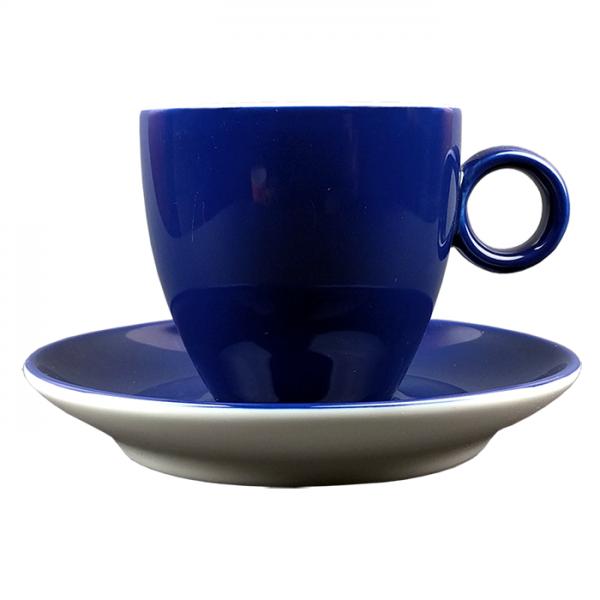 Koffiekopje - Maastricht porselein - Bart Colour - Blauw