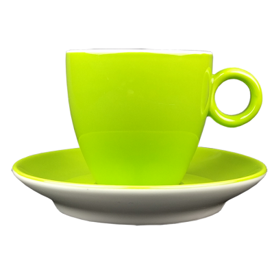 Koffiekopje - Maastricht porselein - Bart Colour - Groen