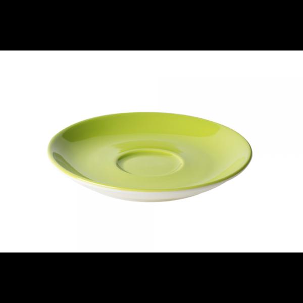 Cappuccinoschotel - 15,5 cm - Maastricht Porselein - Groen