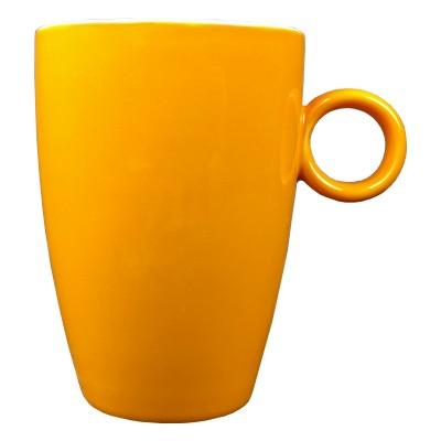 Mok - Maastricht porselein - Bart Colour - Oranje