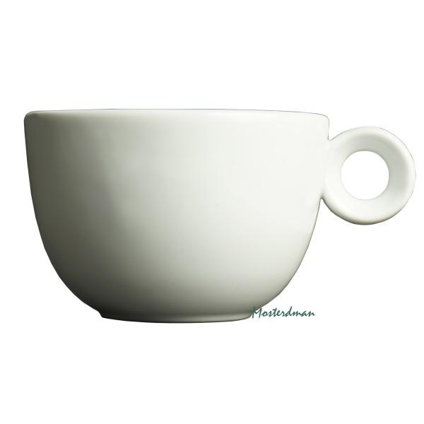 Mosterdman porselein - Large cappuccinokop 280ml - Kop - Wit