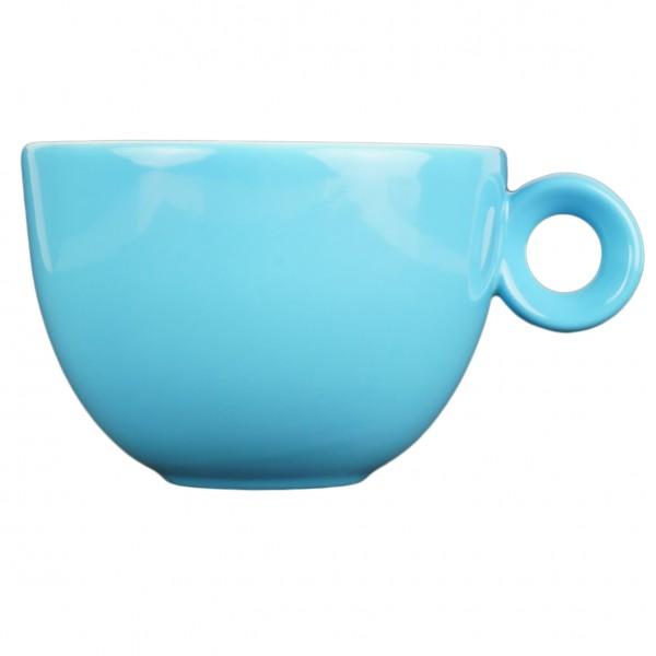 Cappuccinokopje - 200ml - Mosterdman - Blauw