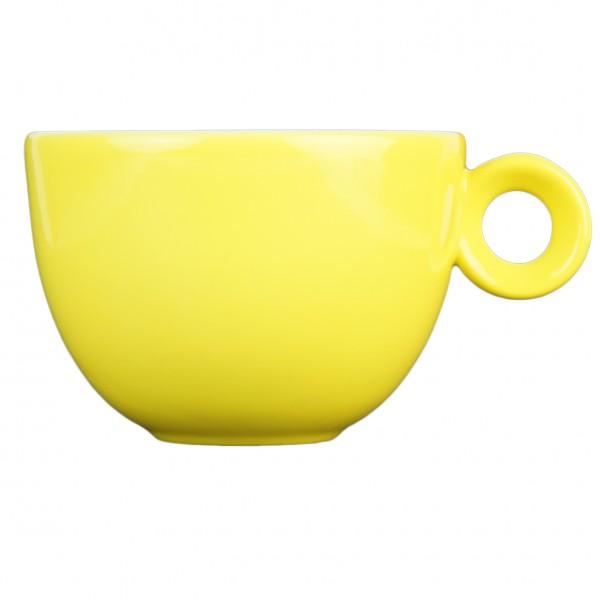 Cappuccinokopje - 200ml - Mosterdman - Geel