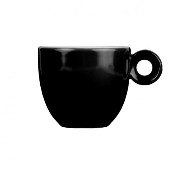Espressokopje zwart - 80ml - Mosterdman