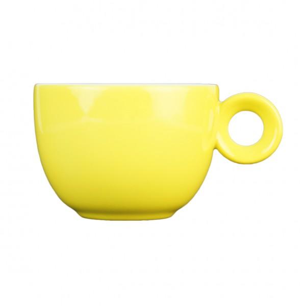 Geel koffiekopje - 150ml - Mosterdman