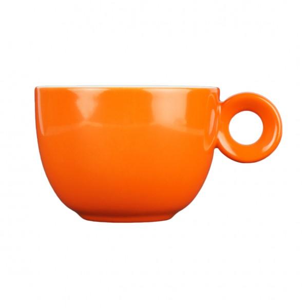 Oranje koffiekopje - 150ml - Mosterdman