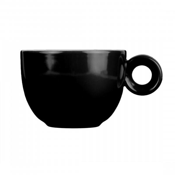 Zwart koffiekopje - 150ml - Mosterdman