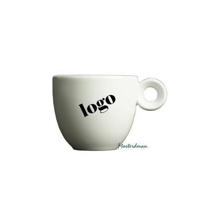 Mosterdman espressokopje bedrukt met logo