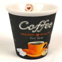 Espressokopjes - Easy life - set van 4