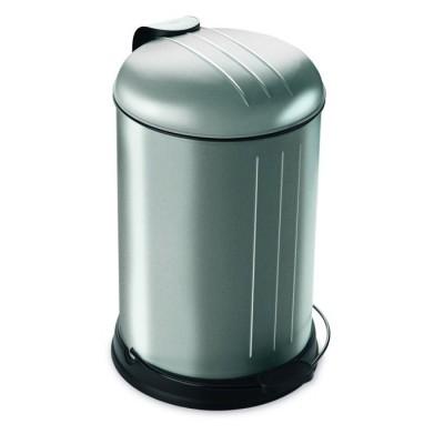 Prullenbak - pedaalemmer - Rixx - 12 liter -RVS