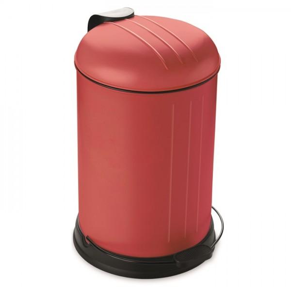 Prullenbak - pedaalemmer - Rixx - 12 liter -Rood