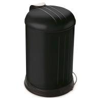 Prullenbak - pedaalemmer - Rixx - 12 liter -Mat zwart