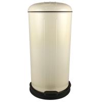 Prullenbak - pedaalemmer - Rixx - 30 liter -Creme