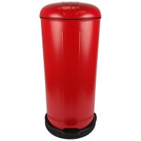 Prullenbak - pedaalemmer - Rixx - 30 liter -Rood