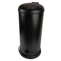 Prullenbak - pedaalemmer - Rixx - 30 liter -Mat zwart