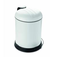 Prullenbak - pedaalemmer - Rixx - 5 liter -Creme