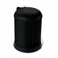 Prullenbak - pedaalemmer - Rixx - 5 liter -Mat zwart